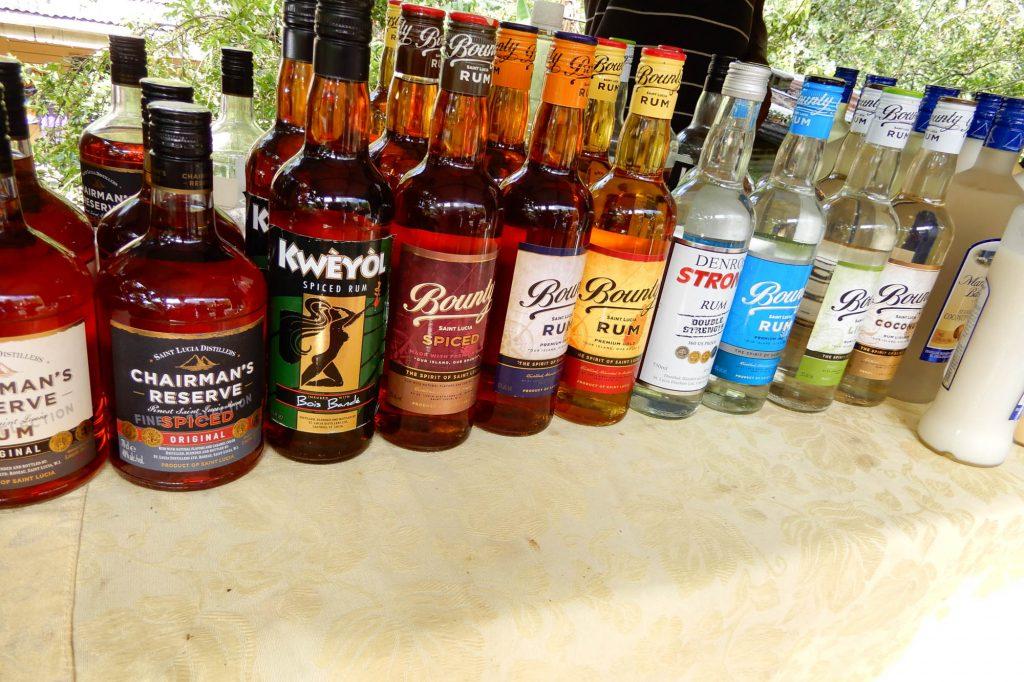 st lucia rum