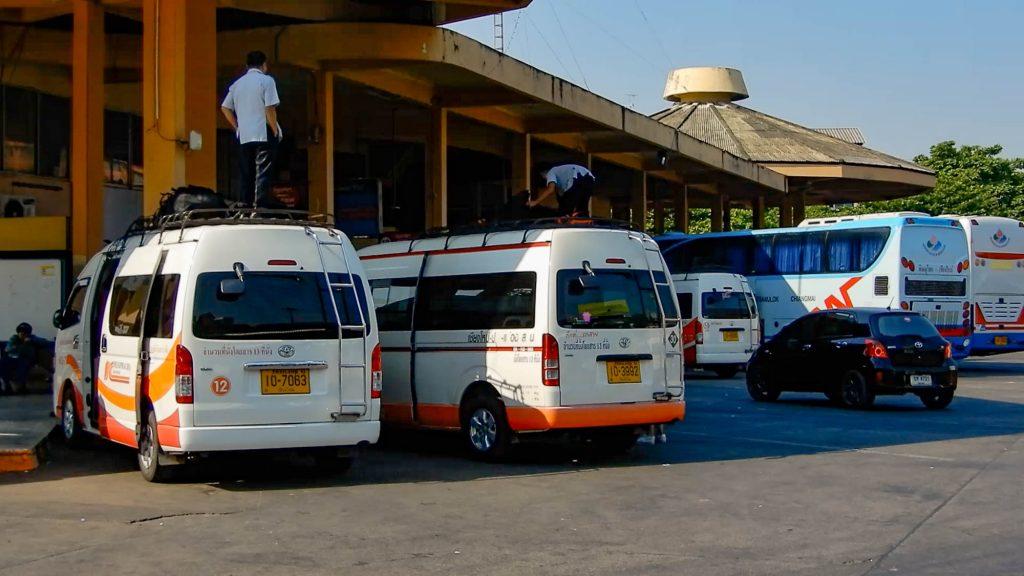 Bus to Pai Thailand