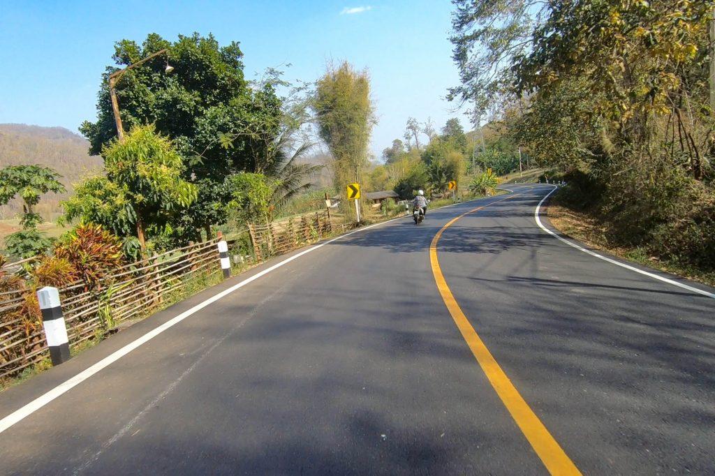 Driving through Pai