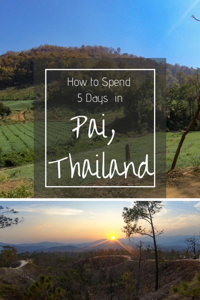 Pin Me Pai Thailand