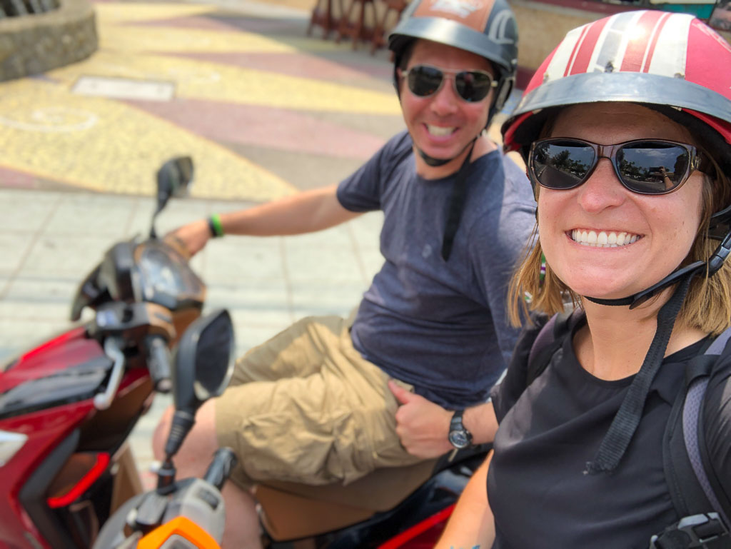 Renting Scooters in Phuket