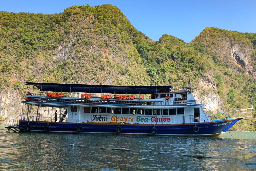 John Gray Sea Canoe Tour Phang Nga Bay