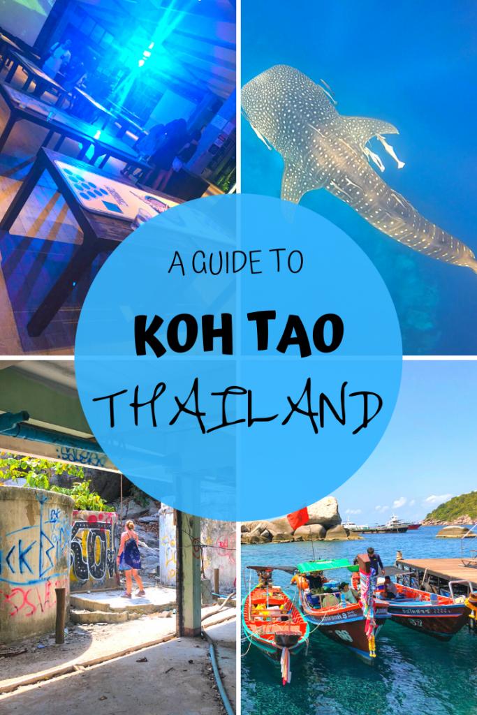 Koh Tao Thailand Pinterest 2