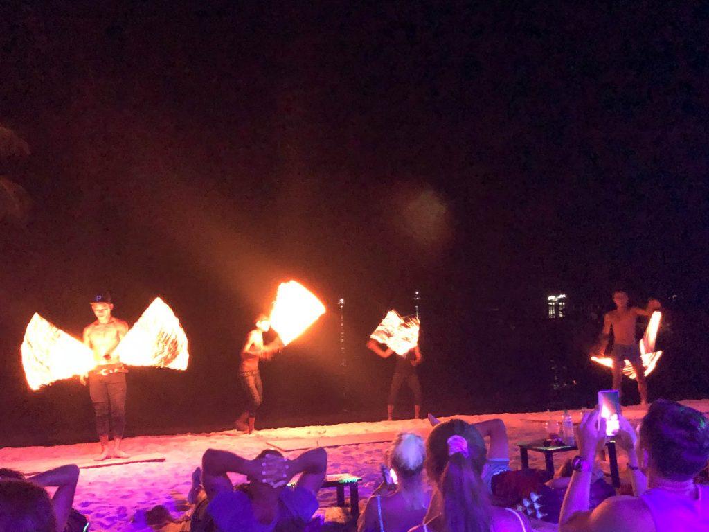 Koh Tao Fire Show