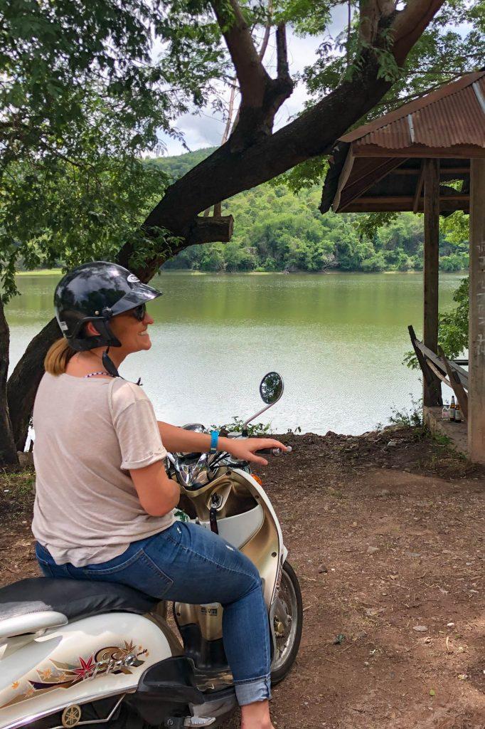 Motor scooter Phayao Thailand