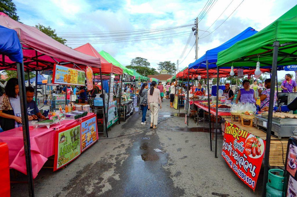 Night Market Phayao