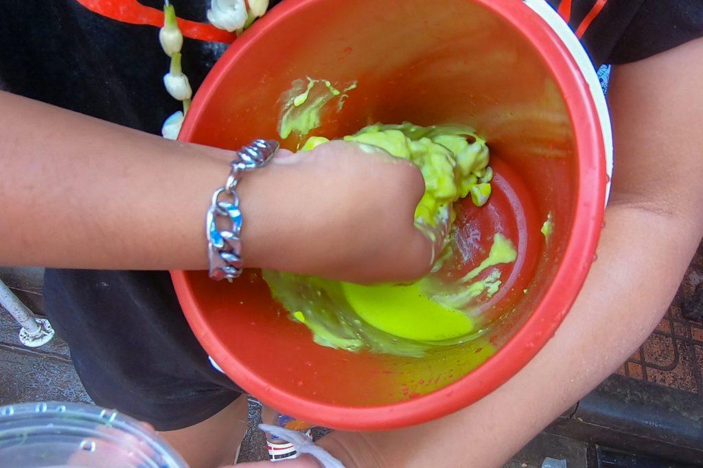 Songkran Festival Clay