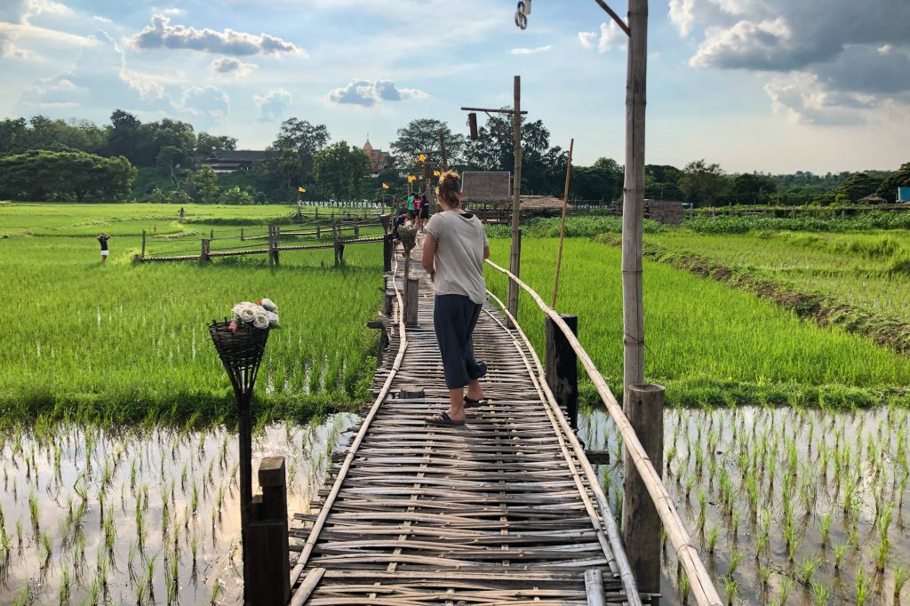 Bamboo Bridge Lampang