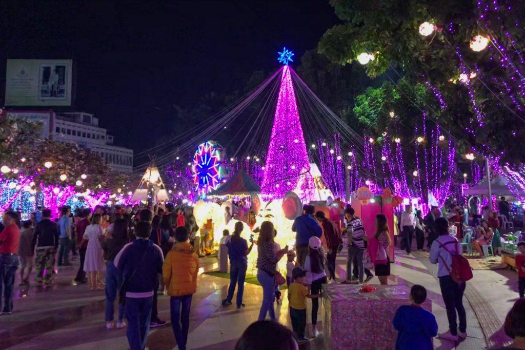 New Year Market in Lampang Thailand
